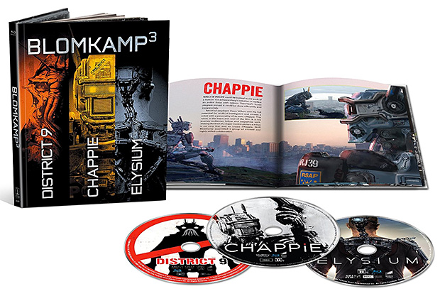 Blomkamp³ Limited Edition Blu-ray Collection at werd.com