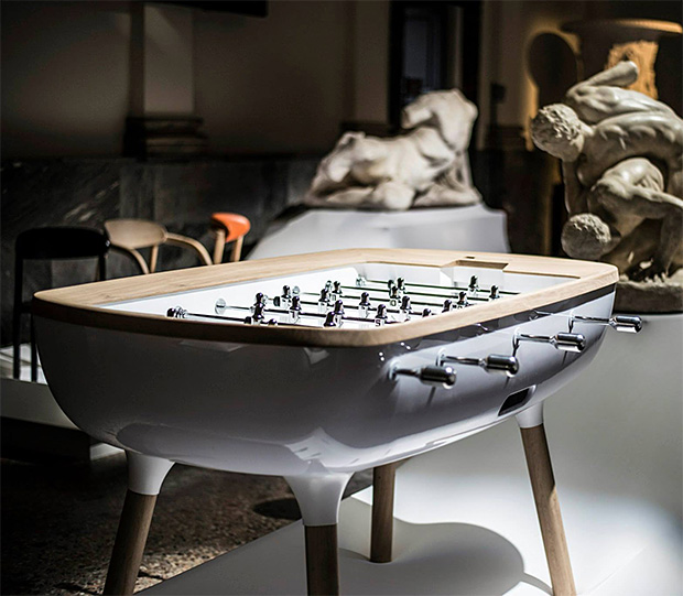 The PURE Foosball Table at werd.com