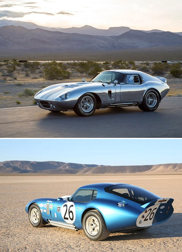 Shelby Cobra Daytona Coupe 50th Anniversary at werd.com