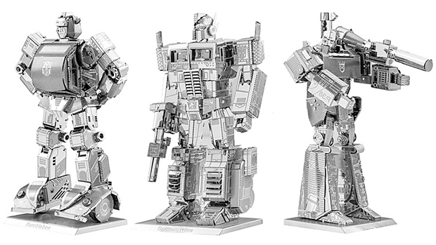 Transformers Metal Models at werd.com