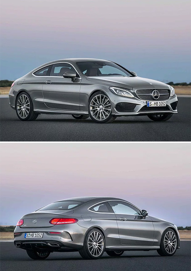 2017 Mercedes-Benz C-Coupe at werd.com
