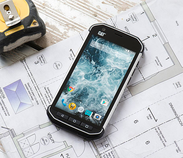 Caterpillar S40 Rugged Smartphone at werd.com