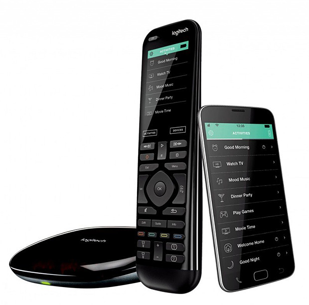 Logitech Harmony Elite Whole-Home Controller at werd.com