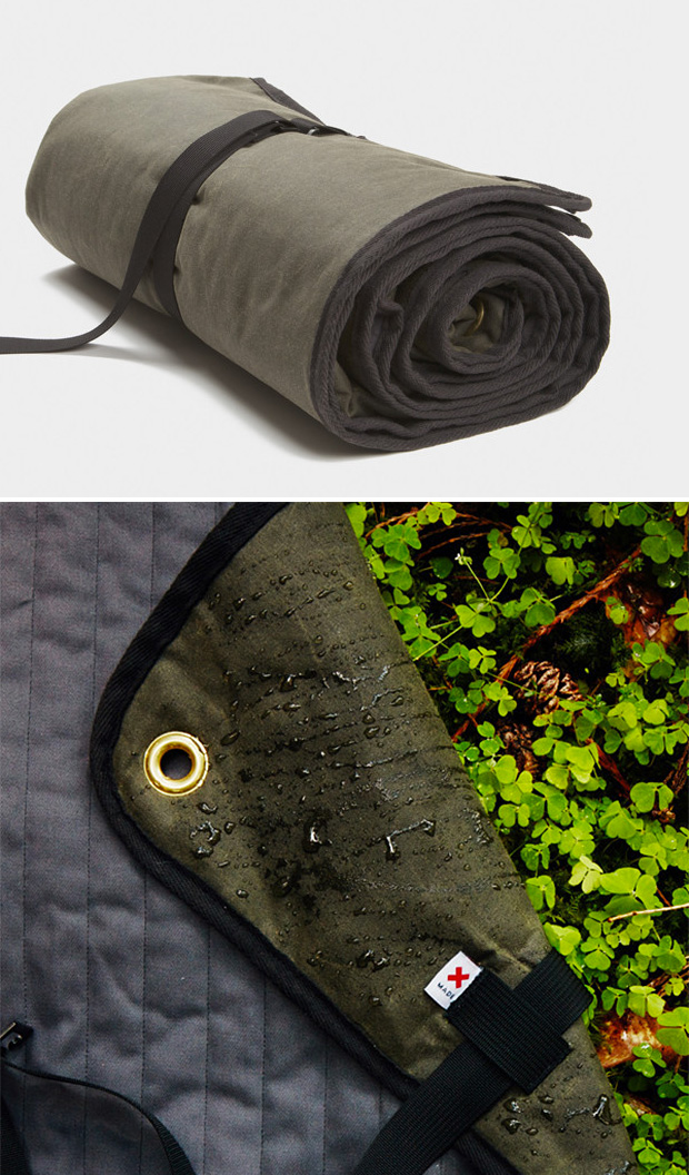 The Waxed Canvas Blanket by Best Made Co at werd.com