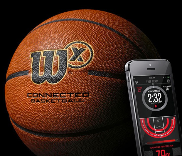 Wilson X Connected Basketball at werd.com