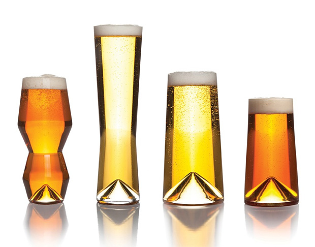 Sempli Monti Beer Glasses at werd.com