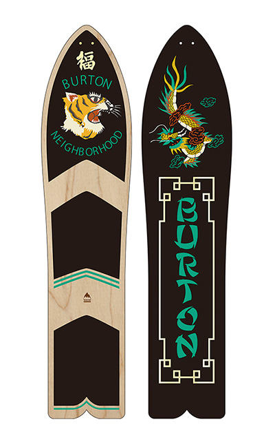 Burton x Neighborhood Throwback Snowboard at werd.com