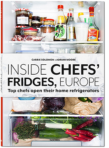 Inside Chefs' Fridges, Europe at werd.com