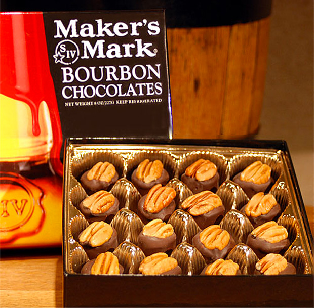 Maker's Mark Bourbon Chocolates at werd.com