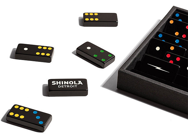 Shinola x Crisloid Domino Set at werd.com