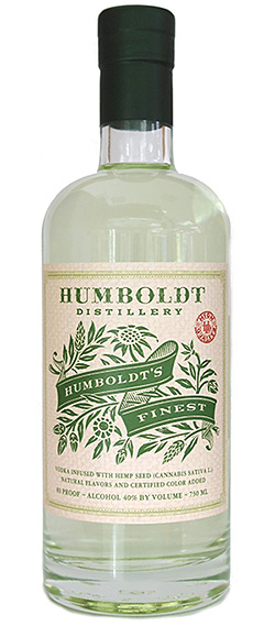 Humboldt's Finest Vodka at werd.com