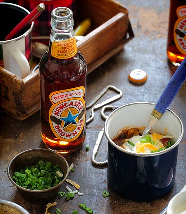 Newcastle Brown Ale Chili