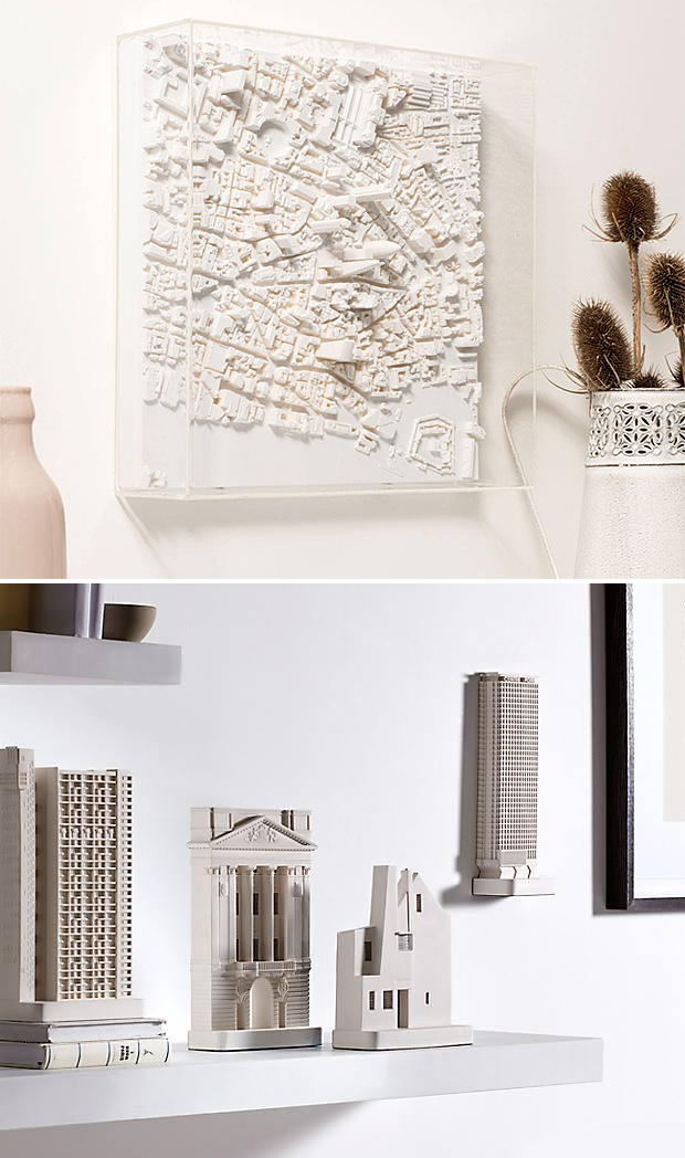 Chisel & Mouse Architectural Sculptures