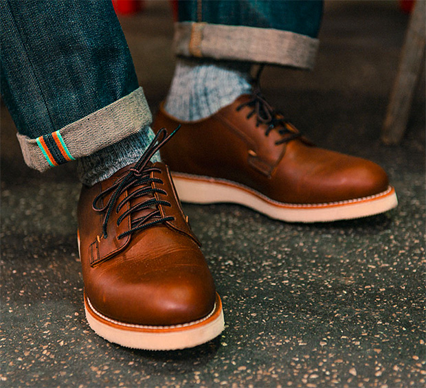 Red Wing Postman Oxford at werd.com