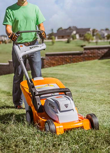 Stihl RMA 410 Battery-powered Lawn Mower at werd.com