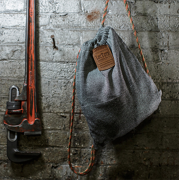 Flak Sack Theft-Proof Drawstring Backpack at werd.com