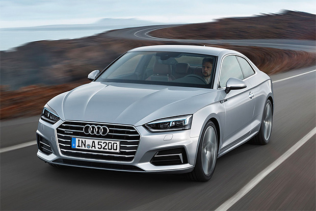 2017 Audi A5 Coupe at werd.com