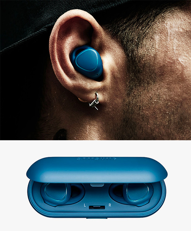 Samsung Gear IconX Wireless Earbuds at werd.com