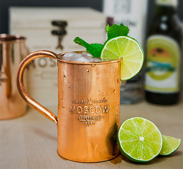 Moscow Copper Company Mule Mugs at werd.com
