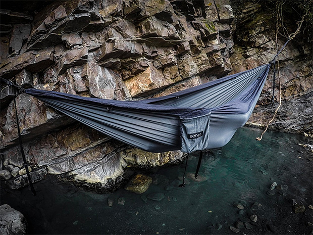 Serac Sequoia XL Wide Camping Hammock at werd.com