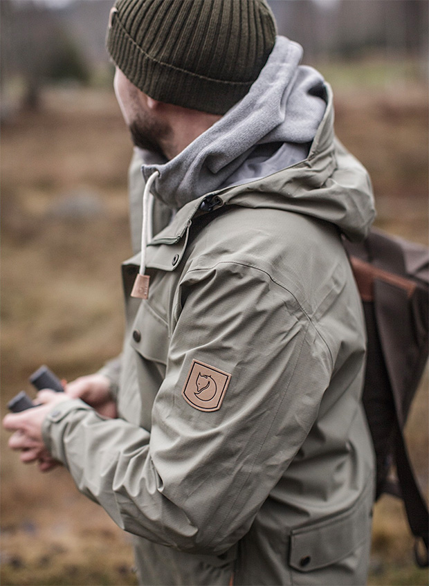 Fjällräven Övik Eco-Shell Jacket at werd.com