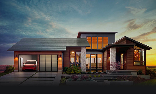 Tesla Solar Roof at werd.com