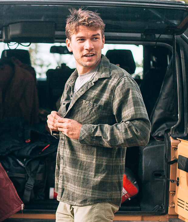 The Mountain Flannel by Mountain Standard at werd.com