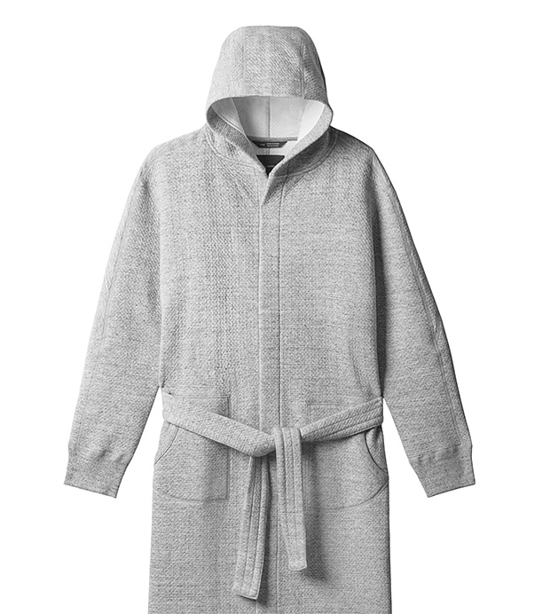 wings+horns Cabin Fleece Robe at werd.com