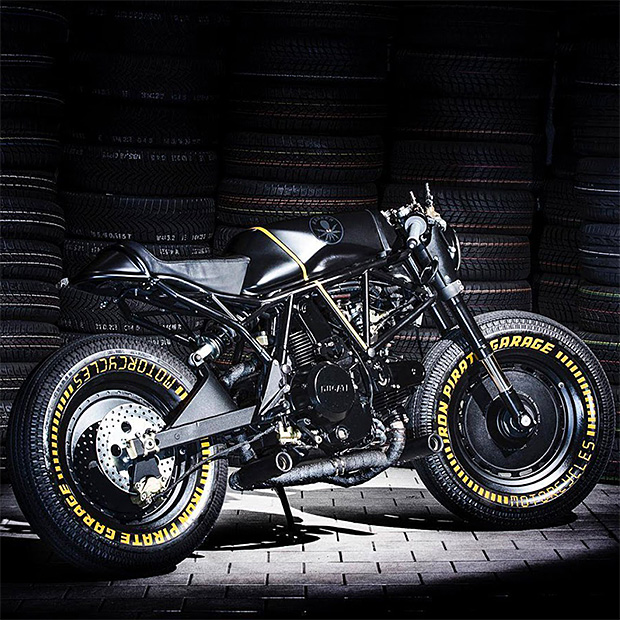 Ducati 750SS Kraken Custom Motorcycle by Iron Pirate Garage at werd.com