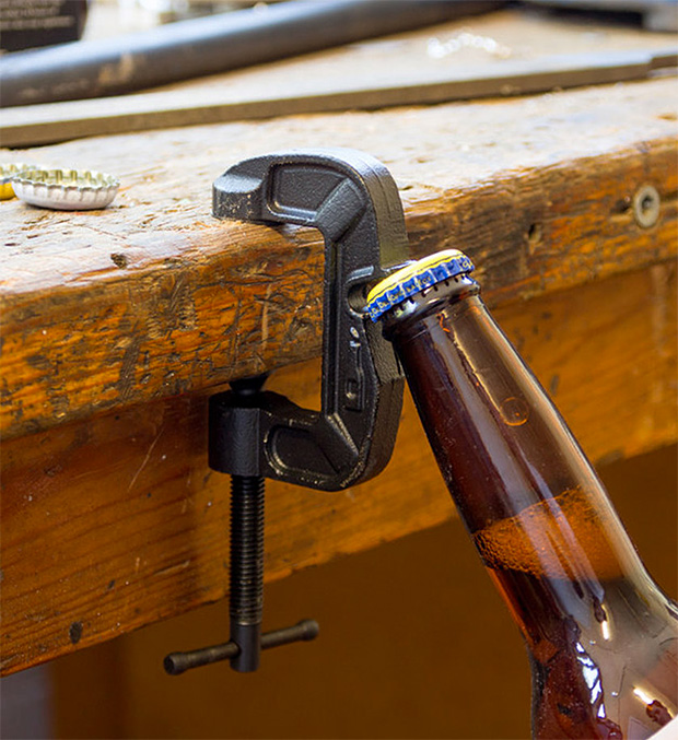 G-Clamp Bottle Opener at werd.com