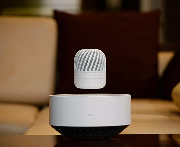 LG Levitating Speaker at werd.com