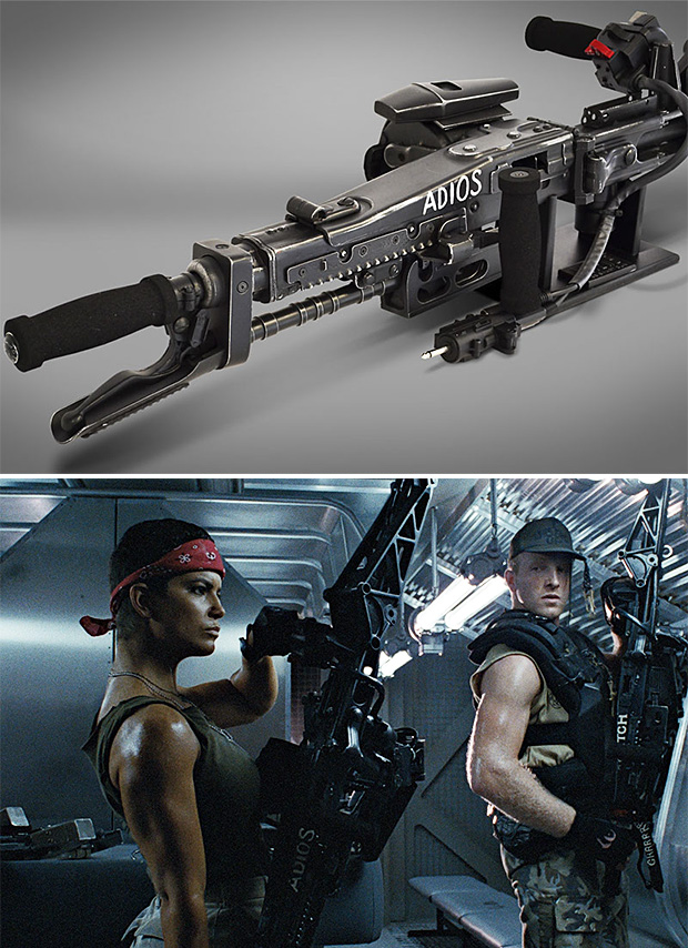 HCG M56 Smartgun Replica from Aliens at werd.com