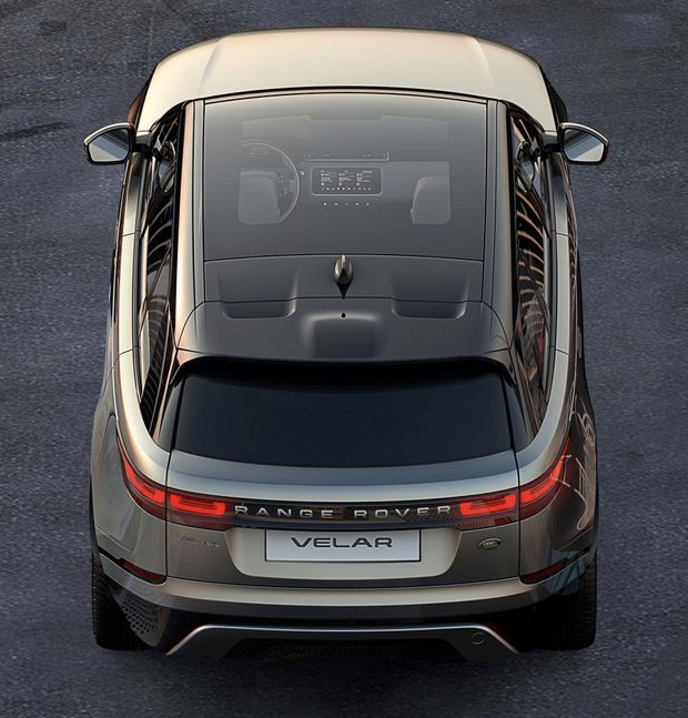 Here's the 1st Shot of the 2018 Range Rover Velar at werd.com
