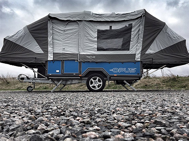 Air OPUS Is The World's First Air Frame Soft-Top Camper at werd.com