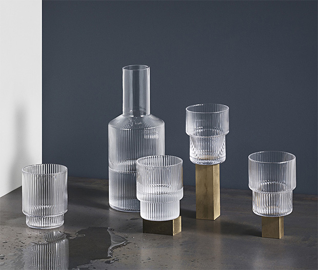 Ripple Glasses Bring a Unique Look to the Tumbler at werd.com