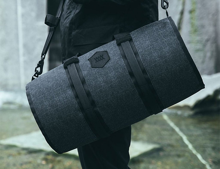 The Cadre Duffle from Mission Workshop Lets You Add Accessories to Carry More Cargo at werd.com
