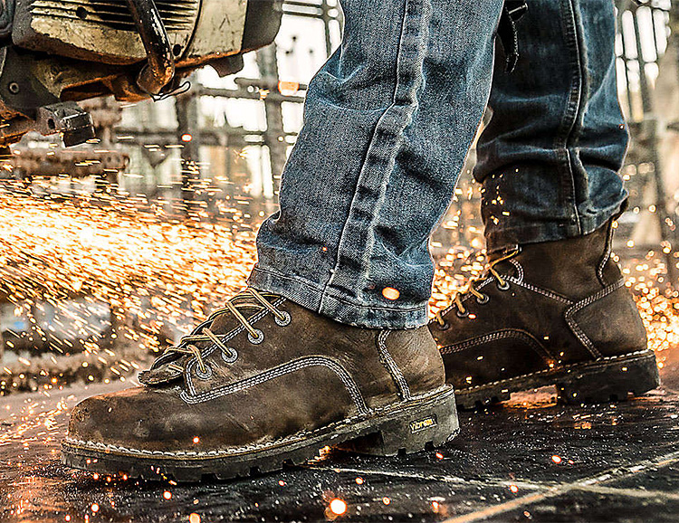 Danner S Gritstone Work Boot Is A Lot Lighter But Tough As