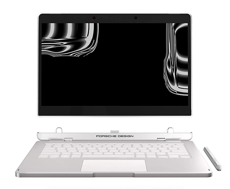 The Book One from Porsche Design is a Stylish Laptop & Tablet In One at werd.com