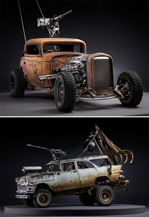 The Post-Apocalyptic Rides Of Mad Max: Fury Road. Yes, They're Real. at werd.com
