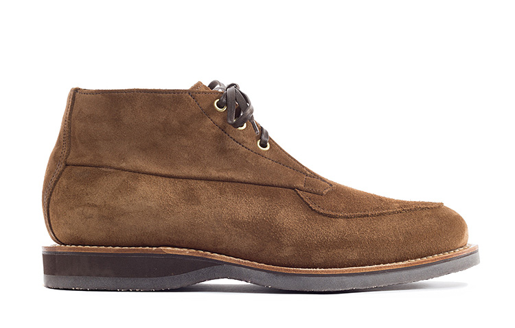 Viberg's Calf Suede Bernhard Boot is a True Modern Classic at werd.com