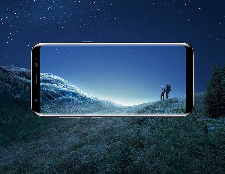 Samsung Unveils the New S8 Smartphone with Wraparound Infinity Display at werd.com
