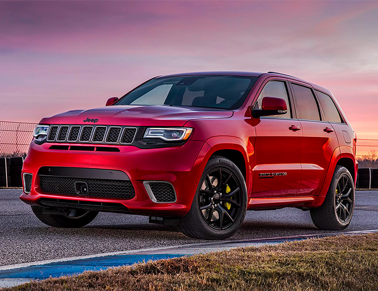 Jeep Announces the 707-Horsepower Grand Cherokee Trackhawk at werd.com