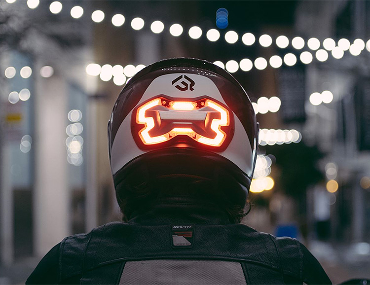 BrakeFree is the Smart Brake Light for Motorcyclists at werd.com