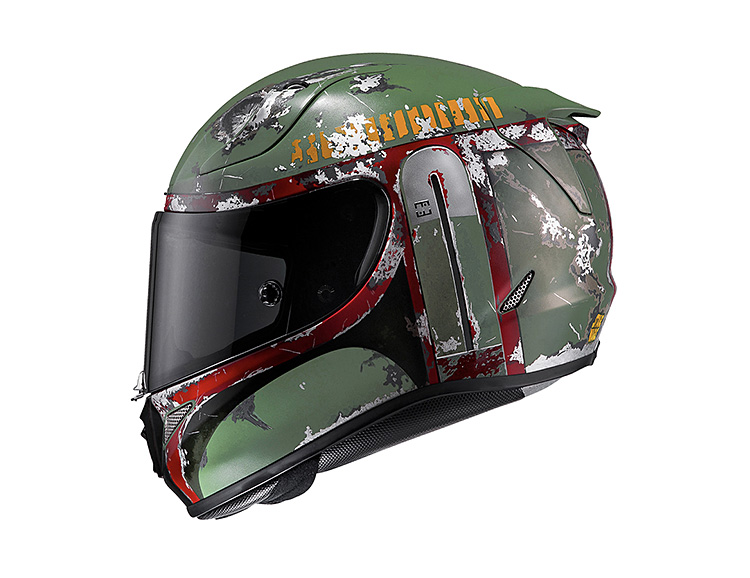 HJC Introduces Boba Fett & Kylo Ren Motorcycle Helmets at werd.com