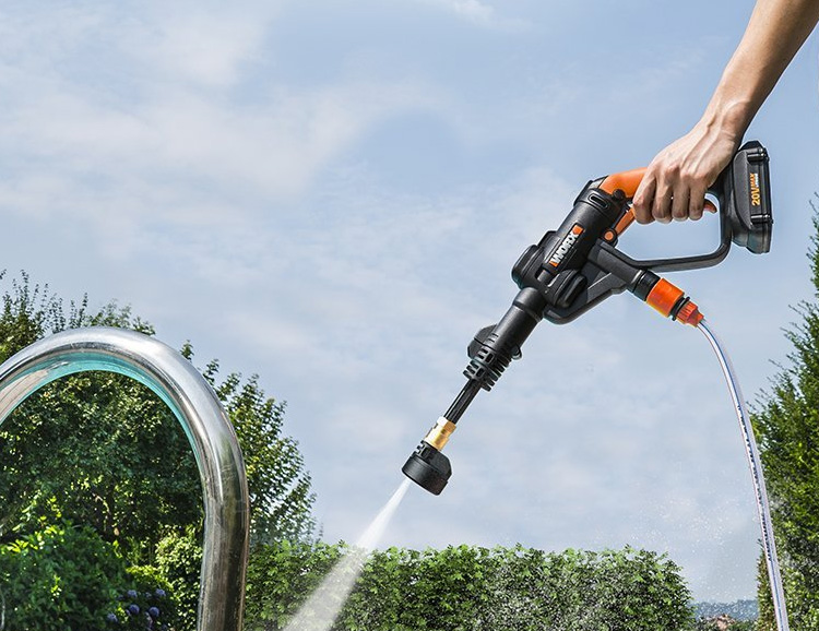 Heavy-Duty but Lightweight: WORX Hydroshot Portable Power Cleaner at werd.com