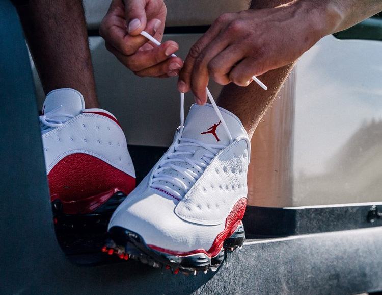 Nike Brings Back the Air Jordan 13 in a Golf Shoe at werd.com