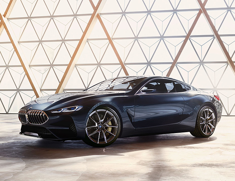 BMW Introduces Concept 8 Series Coupe at werd.com