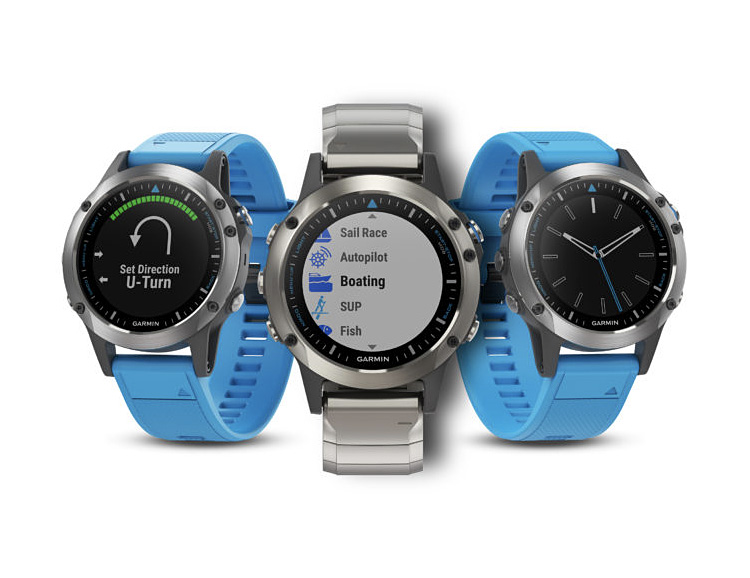 The Garmin Quatix 5 is Built for the Open Ocean at werd.com