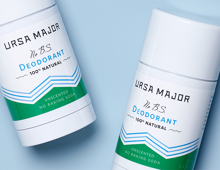 No BS Deodorant from Ursa Major is 100% Naturally Derived at werd.com