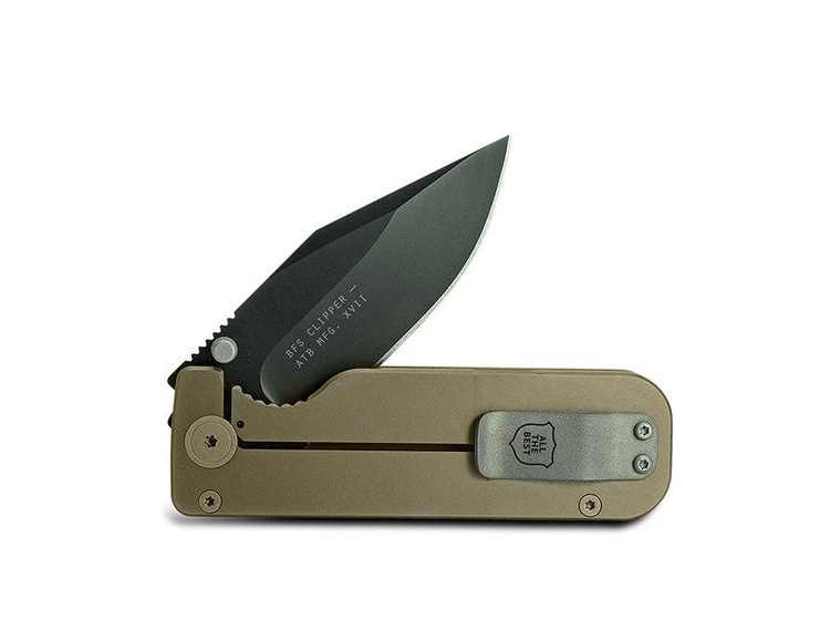 The Clipper is a Slim, Minimalist EDC Knife from Civilware at werd.com